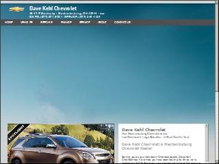 Dave Kehl Chevrolet 45 E Sandusky St Mechanicsburg